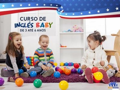 Curso de Inglês Baby - Veja Detalhes
