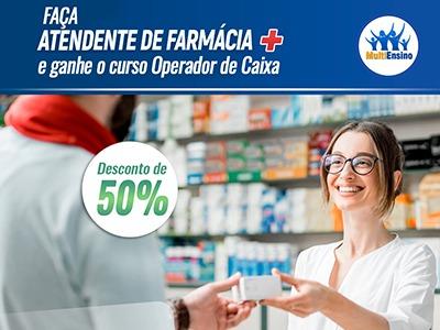 Atendente de Farmácia  - Veja detalhes: