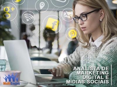 Analista de Marketing Digital e Mídias Sociais - Veja detalhes