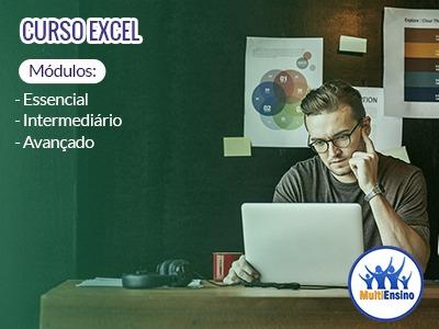 Curso de Excel do Iniciante até o  Avançado