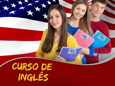 Curso de Inglês para Crianças, Jovens e Adultos - Veja detalhes: