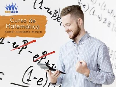 Curso de Matemática do Iniciante ao Avançado - Veja detalhes: