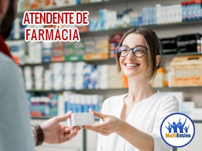 Curso Atendente de Farmácia - Veja detalhes: