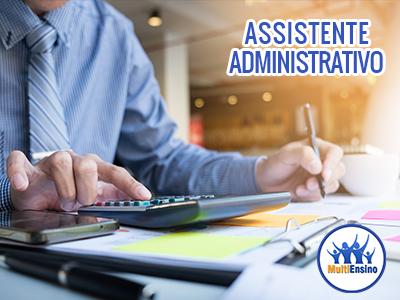 Curso Assistente Administrativo  - Estude online ou em uma Escola:  Veja Detalhes
