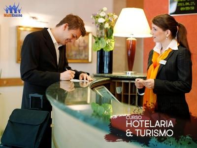 Curso de Turismo & Hotelaria - Veja detalhes