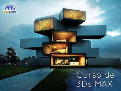 Curso 3D MAX - Veja detalhes